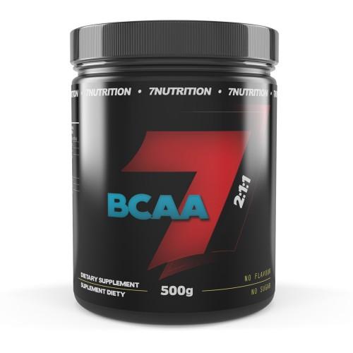 BCAA 2:1:1 500g - 7 NUTRITION