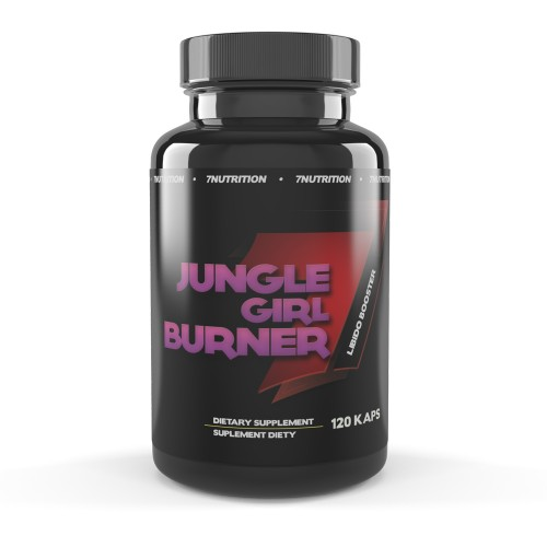 JUNGLE GIRL BURNER + LIBIDO BOOSTER 120 caps - 7 NUTRITION