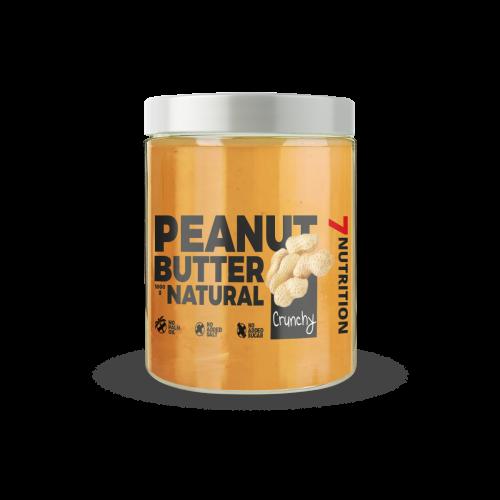Peanut Butter Natural Crunch 1KG - 7 NUTRITION