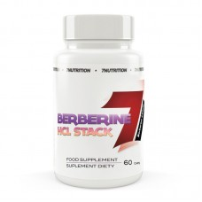 BERBERINE HCL STACK 60caps - 7 NUTRITION