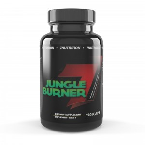 JUNGLE BURNER 120 caps - 7 NUTRITION