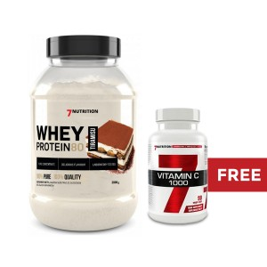 WHEY PROTEIN 80 2000g  - 7 NUTRITION