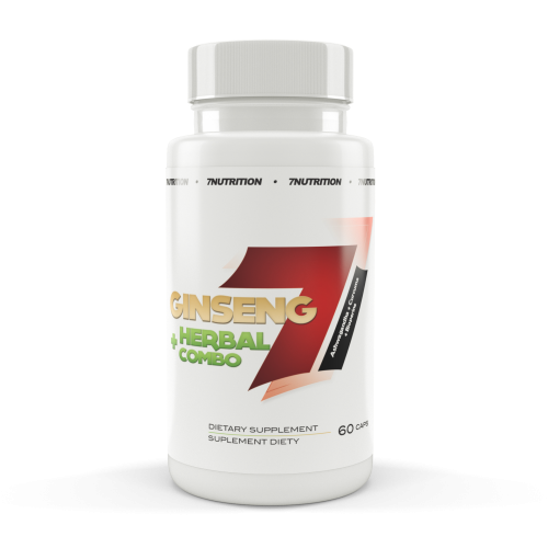 GINSENG + HERBAL COMBO 60 CAPS - 7 NUTRITION