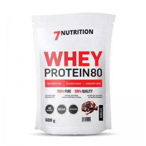 WHEY PROTEIN 80 500g - 7 NUTRITION