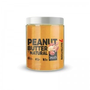 Peanut Butter Natural Smooth 1KG - 7 NUTRITION