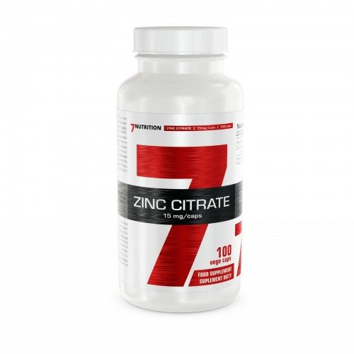 ZINC CITRATE 15mg  - 7 NUTRITION