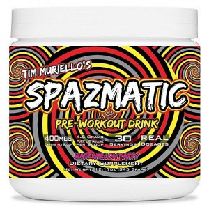 Pre Workout Powder 351g - Spazmatic supplements