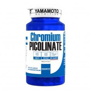Chromium Picolinate 100 tabs - YAMAMOTO NUTRITION