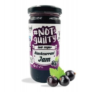#NotGuilty Low Sugar Blackcurrant Jam - The Skinny Food