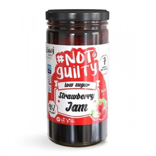 #NotGuilty Low Sugar Strawberry Jam - The Skinny Food