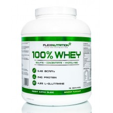 100% WHEY 2270g - FLEXI NUTRITION