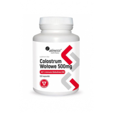 Bovine Colostrum 500mg 100 caps - Aliness