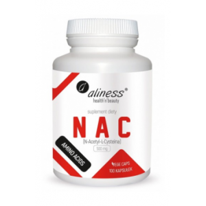 NAC (N-Acetyl-L-Cysteine) 500mg 100 caps - Aliness