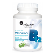 Vitamin B12 Methylcobalamin 1000mcg 100 caps - Aliness