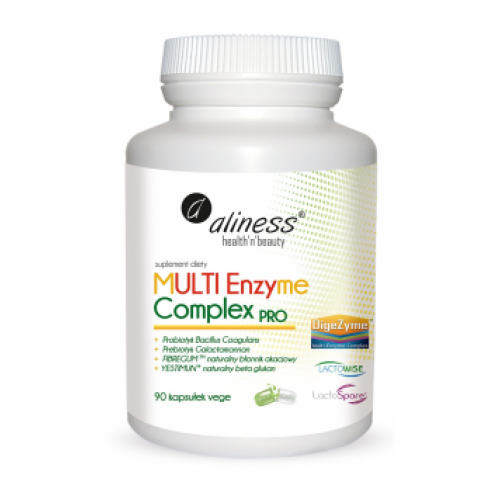 Multi Enzyme Complex 90 caps - Aliness