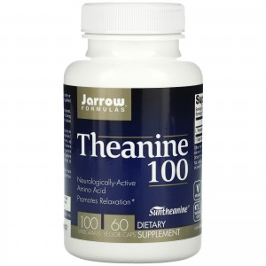 Theanine 100 60 caps - Jarrow Formulas