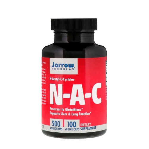 NAC 500mg 100 caps - Jarrow Formulas