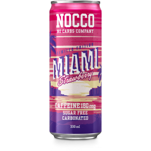 BCAA MIAMI Strawberry - NOCCO