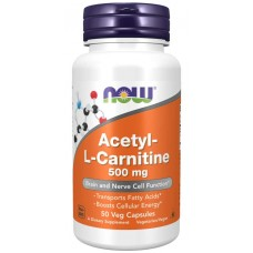 Acetyl L-Carnitine 500mg 50 caps - Now Foods