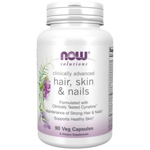 Hair, Skin & Nails Veg Capsules - Now Foods