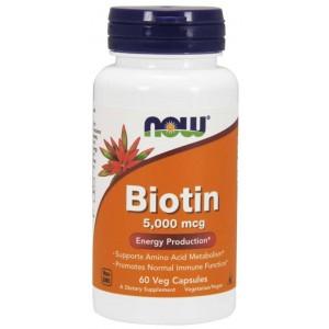 Biotin 5000 mcg - Now Foods