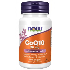 CoQ10 50mg - Now Foods