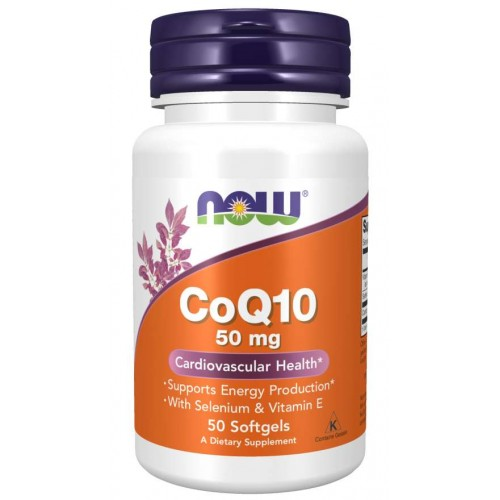 CoQ10 50mg - Now Foods