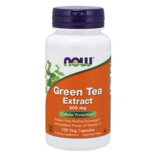 Green Tea Extract 400 mg Caps - Now Foods