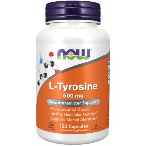 L-Tyrosine 500 mg - Now Foods