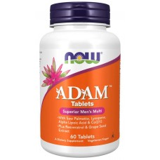 ADAM Men s Multiple Vitamin Tablets - Now Foods