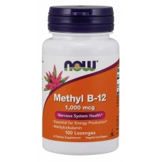 Methyl B-12 1000 mcg - Now Foods