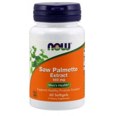Saw Palmetto Extract 160 mg Softgels - Now Foods