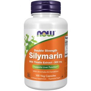Silymarin Milk Thistle Extract 150 mg Veg Capsules - Now Foods