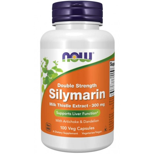 Silymarin, Double Strength 300 mg Veg Capsules - Now Foods