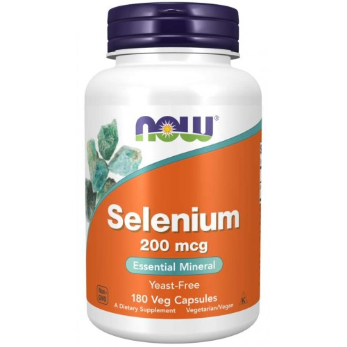 Selenium 200 mcg - Now Foods