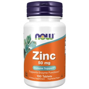 Zinc 50 mg - Now Foods