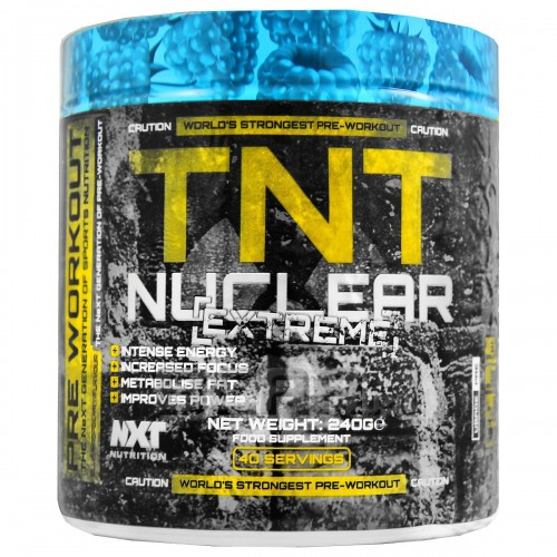 TNT Nuclear Extreme 240g - NXT Nutrition