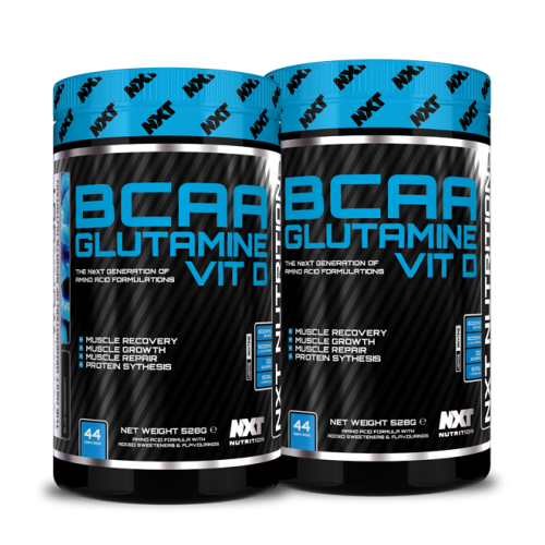 BCAA, Glutamine, D3 - NXT Nutrition