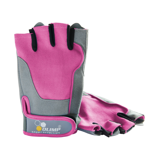 Fitness One Gloves Pink - Olimp Sport Nutrition