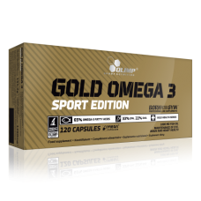 Gold Omega 3 Sport Edition 120caps - Olimp Sport Nutrition