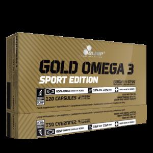 Gold Omega 3 Sport Edition 120caps - Olimp Sport Nutrition