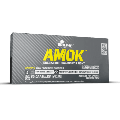 AMOK POWER CAPS - Olimp Sport Nutrition