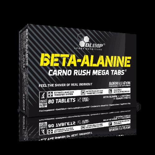 BETA-ALANINE CARNO RUSH MEGA TABS - Olimp Sport Nutrition