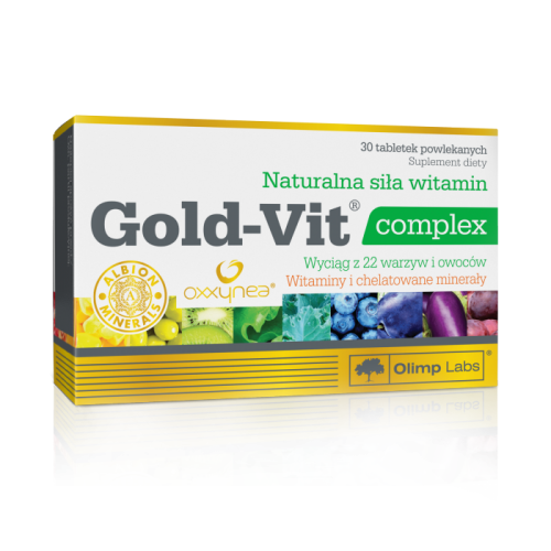 Gold-Vit Complex + Iron - Olimp Sport Nutrition