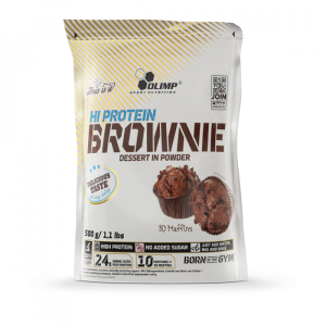 HI Protein Brownie 500g - Olimp Sport Nutrition