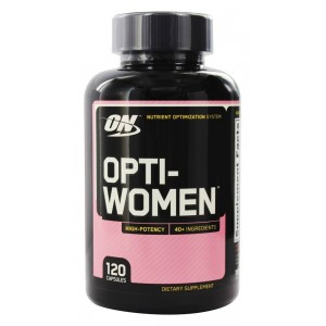 OPTIWOMEN 120 caps - Optimum Nutrition