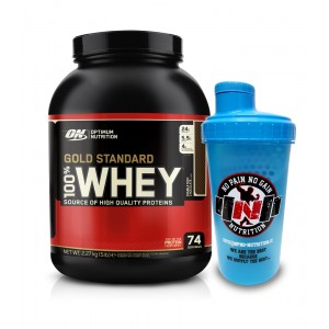 Gold Standard 100% Whey 2270g FREE SHAKER - Optimum Nutrition