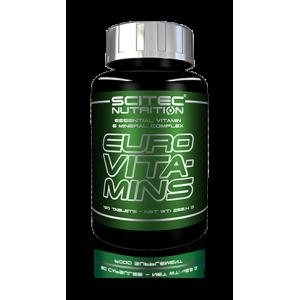 Euro Vita-mins 120 caps - Scitec Nutrition