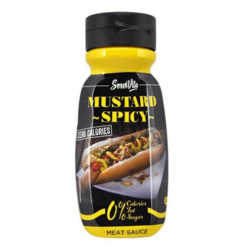 Zero calories MUSTARD SPICY - Servivita