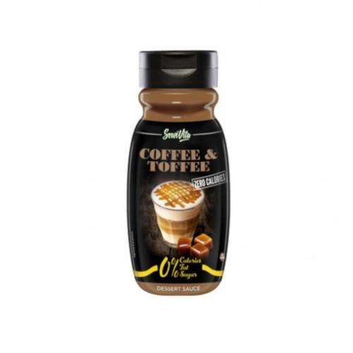 Zero Calorie 320 ml Coffee Toffee - Servivita